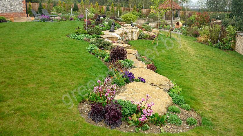 how to build an english garden
