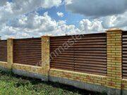 Забор жалюзи гамма