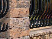 Столбы заборные из бетонных блоков 9