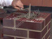 Строительство забора из клинкерного кирпича 3